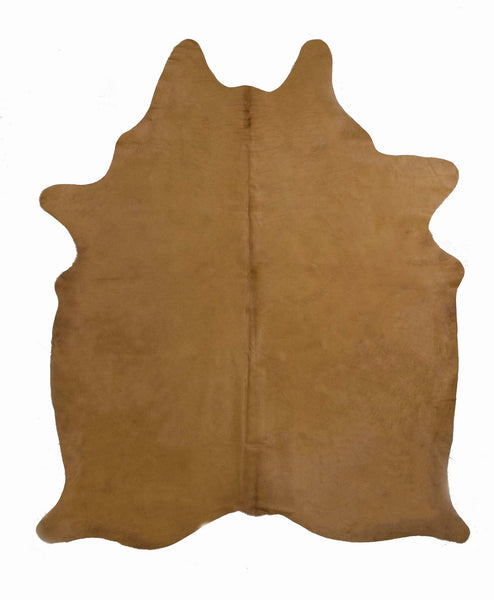 Brown Dyed Cowhide Rug #1001BRN