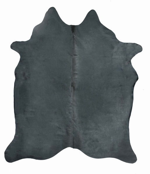 Blue Dyed Cowhide Rug #1001BLUE