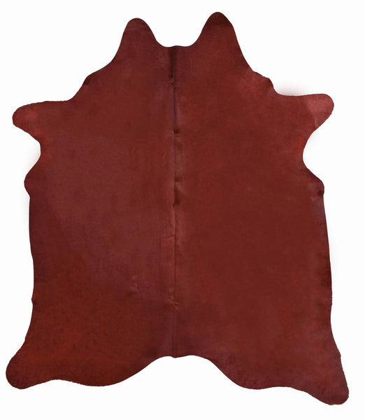 Red Dyed Cowhide Rug #1002RED