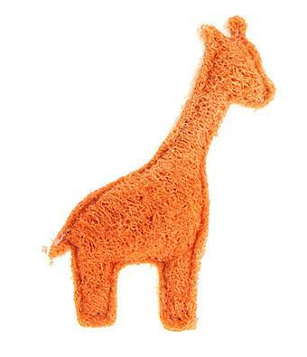 Loofah Dog Toy - Giraffe