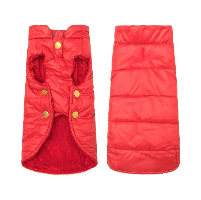 Lightweight Down Dog Vest - Red