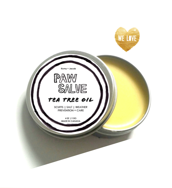 Winter Paw Salve - Tea Tree Oil