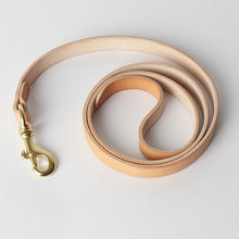 Italy vegetable-tanned leather dog leash, handmade pet leash, leather dog leash, 8/12/18mm width*1100mm length