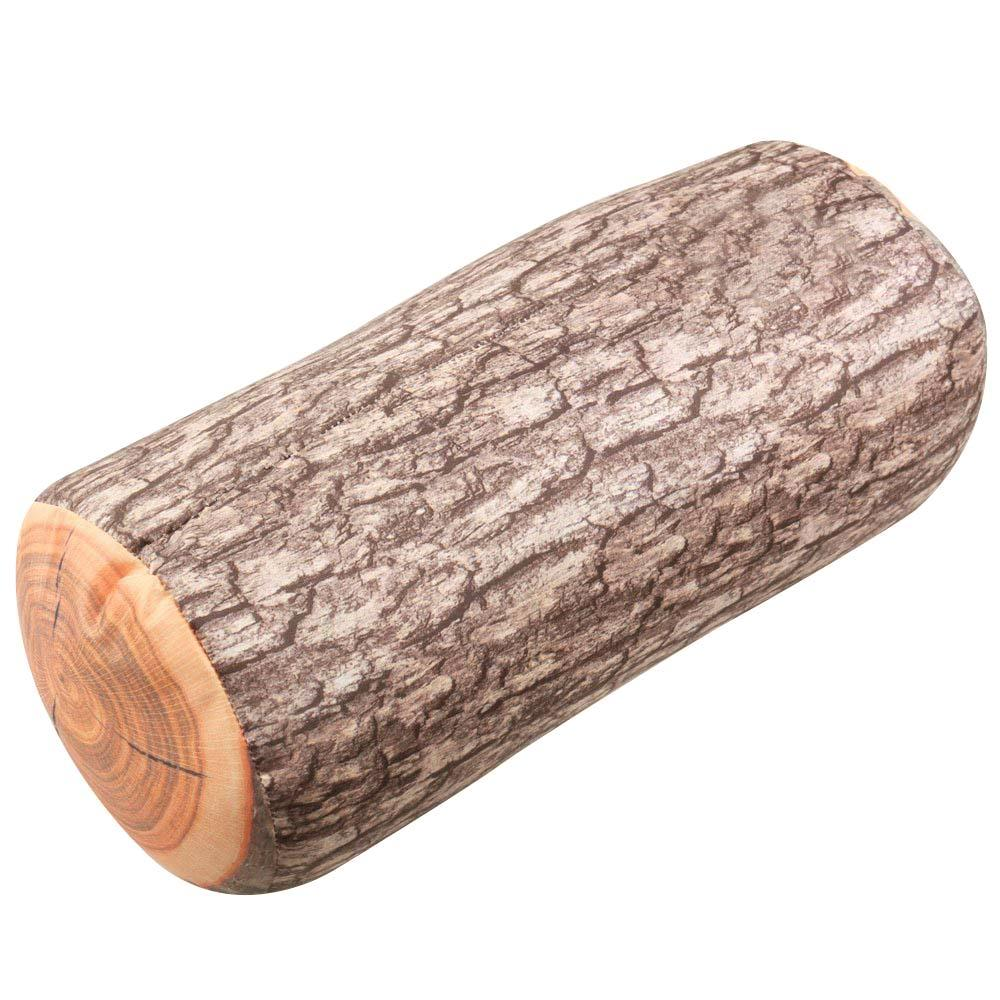 Seattle Wood Log Lumber Soft Pillow Toy