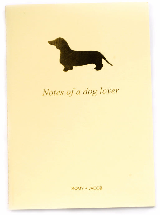 10 pack - Pet Lover Notebook - Dachshund Love