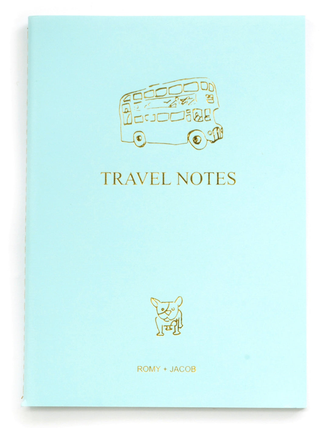 4 Pack Notebook I love to Travel
