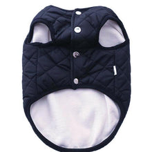 Popover Quilted Dog Vest - Black