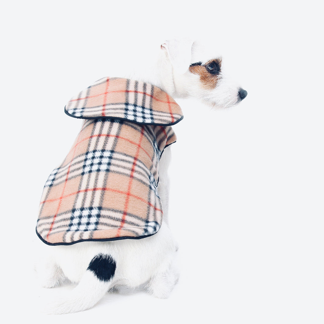 dog coat check