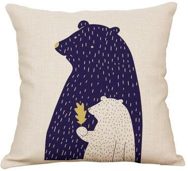 Nordic Bears Pillow Sham