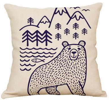 Seattle Bear Pillow Sham