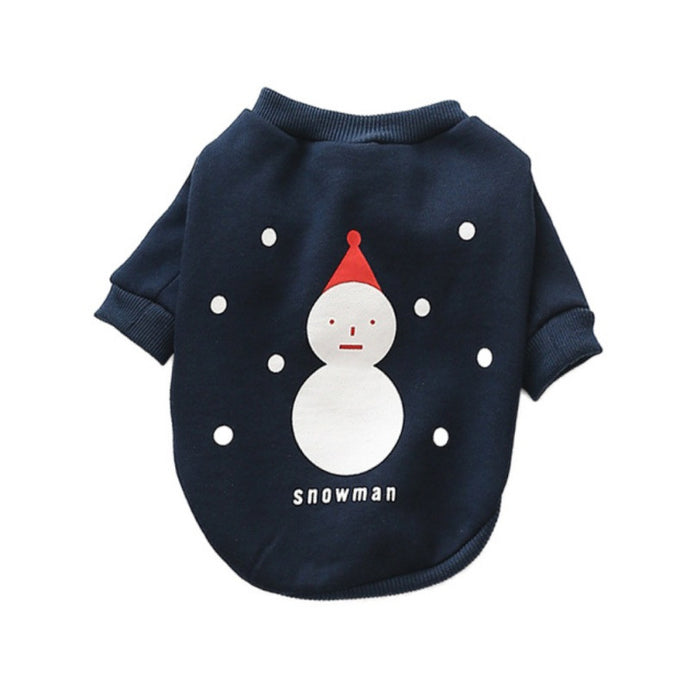 Snowman Pet Sweatshirt