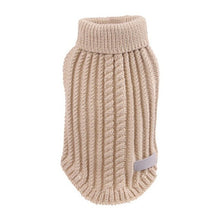 Turtleneck Dog Sweaters Winter Warm Dog Clothes Knit Pet Sweaters Pet Puppy Pajamas Chihuahua Knitwear Apperal