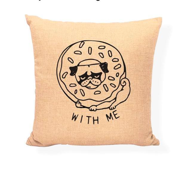Bug in a New York Bagel Pillow Sham