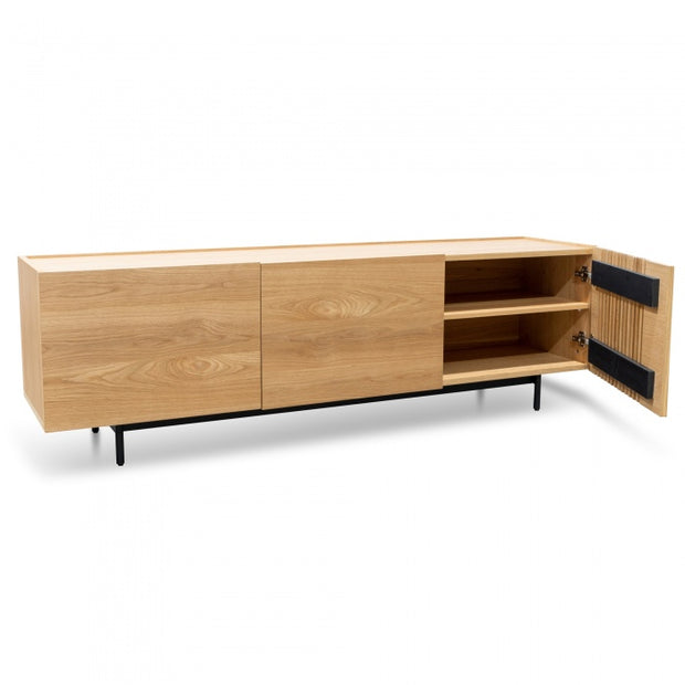 180cm Oscar Entertainment Unit Oak