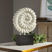 Twisted Spiral Stone Sculpture