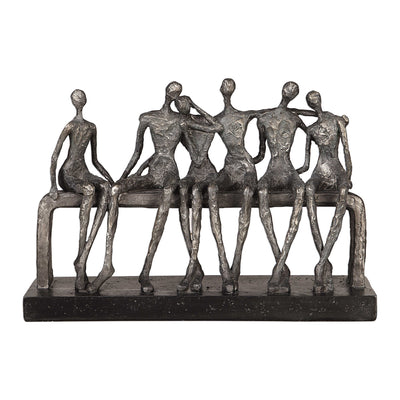 Camaraderie Figurine Sculpture