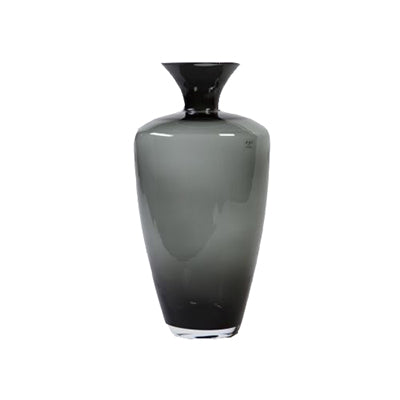 Vase Black Glass Tall