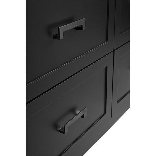 Solfora Bedside Table Black