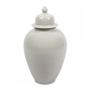 Temple Jar Tall White