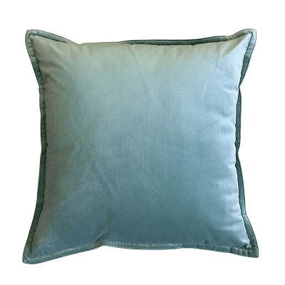 Mira Velvet Seafoam Cushion