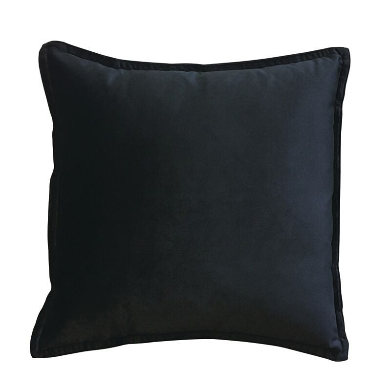 Mira Velvet Black Cushion