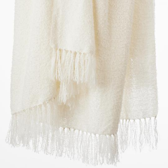 Alpaca Chalk Throw