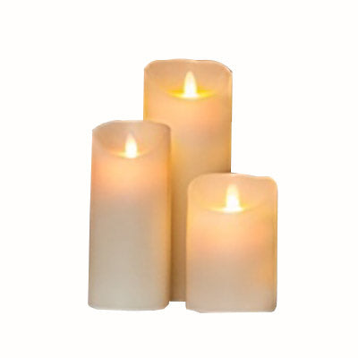 Flameless Wax Candles
