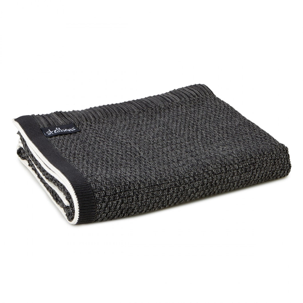 Cotton Knitted Throw - Coco
