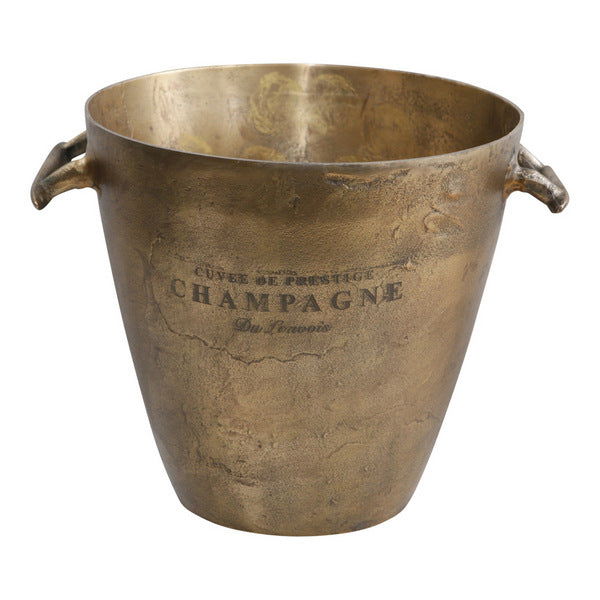 Antique Brass Wine Tub