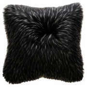 Ebony Plume Faux Fur