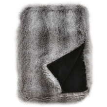 Grey Wolf Faux Fur
