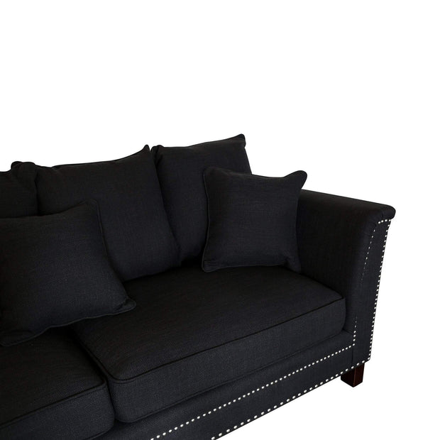 Montclair Charcoal 2 Seat Sofa