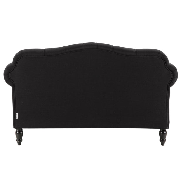 Fontaine 3 Seater Charcoal
