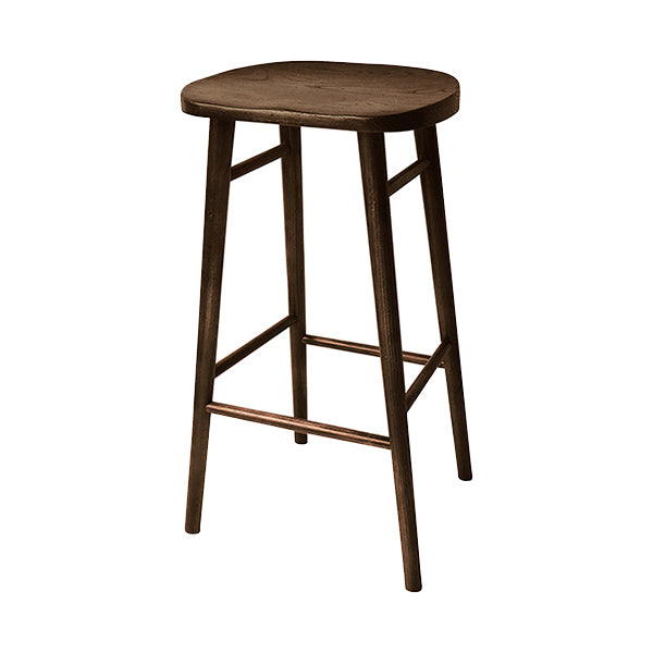 Elm Wood Bar Stool