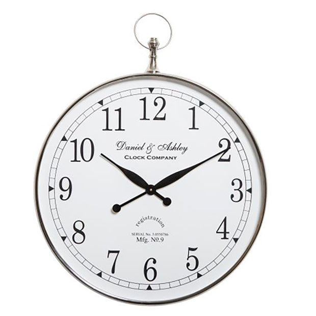 Daniel & Ashley Wall Clock