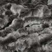 Pewter Chinchilla Faux Fur
