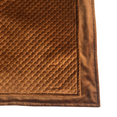 Celino Bronze Quilt Throw