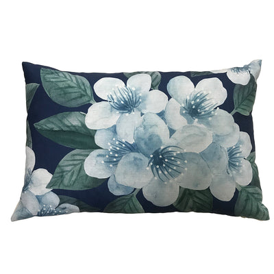 Floret Blue Cushion