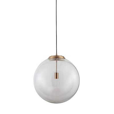 Brass Fitted Ball Pendant