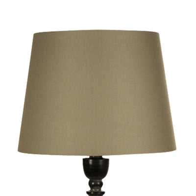 38cm Taupe Tapered Drum Shade