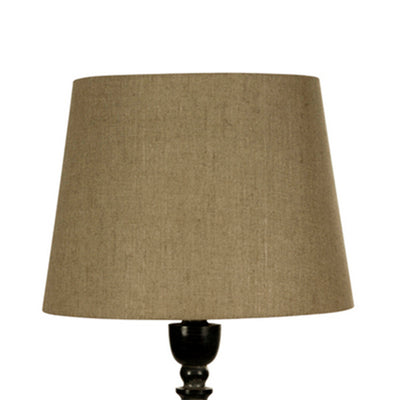 38cm Natural Linen Tapered Drum Shade