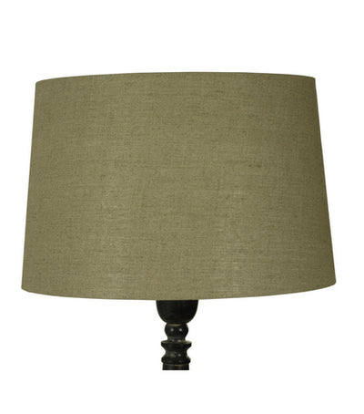 46cm Natural Linen Drum Shade