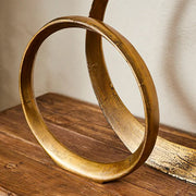 Gold Ring Sculpture Sml