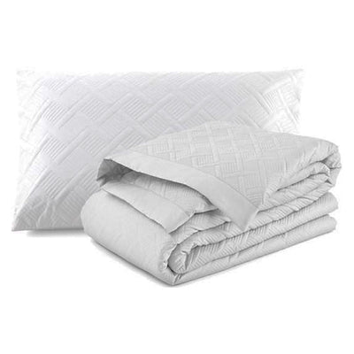 Orphelo Duvet Cover White