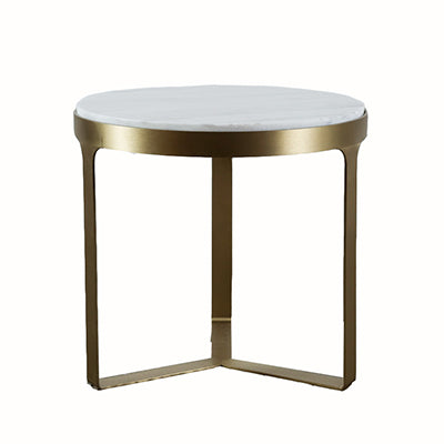 Palazza Gold Side Table