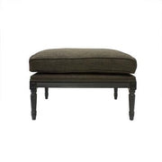 Sebastian Footstool - Black & Night
