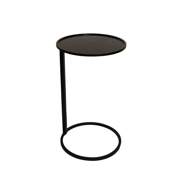 Couch Black Side Table