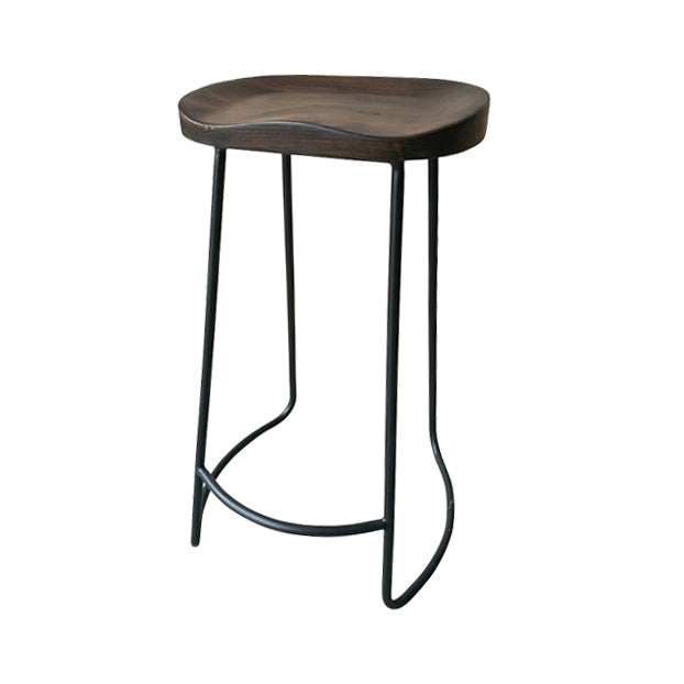 Industrial Bar Stool Dark