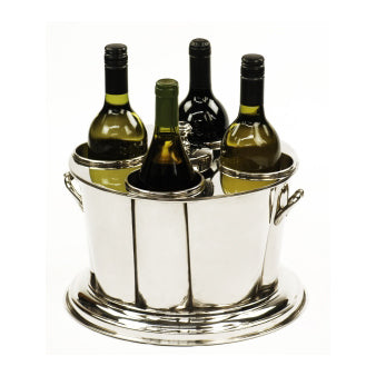 Polished Nickle Wine Bucket
