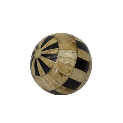 Natural Black Decor Ball